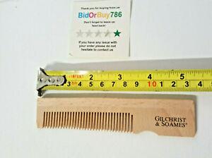 Natural Wooden Comb Pocket Size Gilchrist & soames Wooden Comb Hair Beard Comb