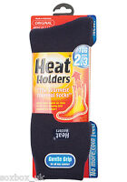 Mens Original Thermal Heat Holder Socks size 6-11 Uk, 39-45 Eur, Navy