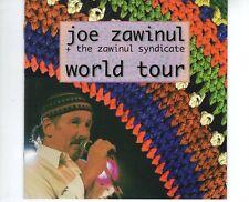 CD JOE ZAWINUL + THE ZAWINUL SYNDICATEworld tour1998 2CD EX ( B2448)