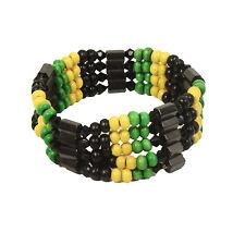 Reggae Magnet Bracelet Roots Jah Rasta Vibes Jamaica Bob Africa Reggae 1sz Fit