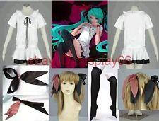 Vocaloid Hatsune Miku WORLD IS MINE 4 Piece Cosplay Costume Custom Any Size