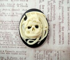 40x30mm Skull And Dragon Cameo (1) - L791