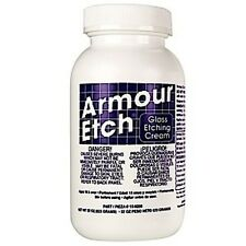 Armour Etch Etching Cream for Glass 10 oz Stained Glass Supplies