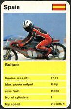 Bultaco/ 50cc - Racing Motor Bikes Waddingtons Top Trumps Card (C2234)