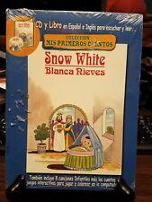 Snow White : Blanca Nieves by Mis Primeros Cuentos (CD, 2007. Union Records)