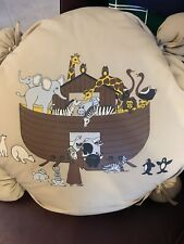 "Noah's Ark Pillow Floor Large 24"" Kids Holiday"