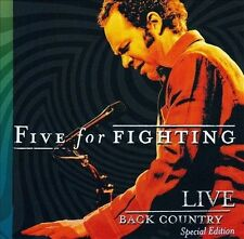 Back Country Live (CD/DVD) [Special Edition] by Five for Fighting