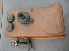 Antique Original Western Electric Company Wall Phone