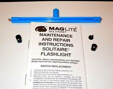 AAA Solitaire Mini Maglite Repair Switch and Installation Tool Kit