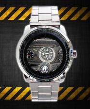 Limited!! Volks Classic Vw Beetle 1971 Speedmtr Logo Sport Metal Watch