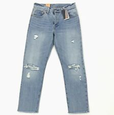 bd38a3edf48d6 Levi s 501 Selvedge Denim Jeans for Women Size 27 X 28 Frayed Distressed
