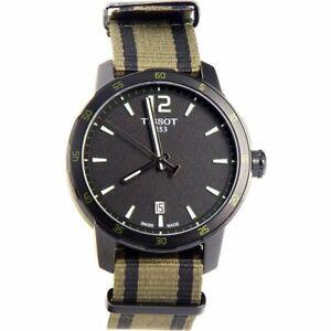 Tissot Swiss Made T-Sport Quickster Men's Nato Strap Watch T0954103705700