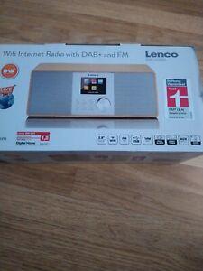 Lenco DIR-150WD Internet Stereo Radio WiFi FM Bluetooth USB Remote Control