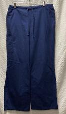 Sb Scrubs Indigo Navy Blue Size Large Scrub Pants Style 967