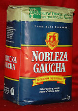 YERBA MATE TEA NOBLEZA GAUCHA - ONE  2.2 LBS BAG - 1 KG - NEW PACKAGING