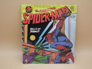 "The Amazing Spider-Man 'Bells of Doom!!' 7"" Vinyl Record - 33 1/3 RPM MIP"