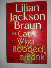 The Cat Who Robbed a Bank (Inglés) Tapa dura – 2000 de Lillian Braun Jackson