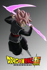 Dragon Ball Super Poster Goku Black Rose with Scythe 12in x 18in Free Shipping