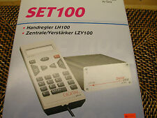 "LENZ SET100 NEW PRO DCC SYSTEM VER3.6R W/COMPUTER INTERFACE - ""S"" ""O"" /""G"" SCALE"