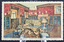 Postcard Office Right Worthy Grand Secretary Desk Washington DC