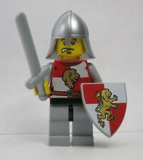 Lion Knight Goatee Quarters 10223 Kingdoms Sword Shield Castle Lego Minifigure