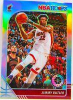 Jimmy Butler 2019-20 NBA Hoops Premium Stock Silver Prizm Card #146 Miami Heat