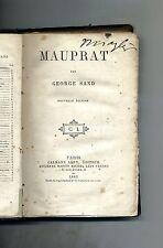George Sand # MAUPRAT # Calmann Lévy Éditeur 1883