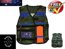 Camo Vest Hold Toy Gun Bullets Foam Darts Compatible with Nerf For Nurf