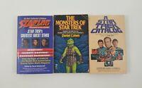 Star Trek Paperback Lot of 3 Titles - SEE DESCRIPTION FOR TITLES