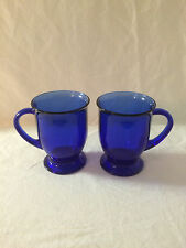 anchor hocking cobalt blue blue mug eBay