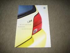 VW Lupo 3L TDI Preisliste price list vom 05.07.1999