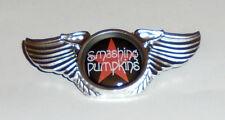 Smashing Pumpkins Grunge Metal Band Wing Live Concert Hat Jacket Badge Pin MTV