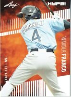 Wander Franco 2018 Leaf HYPE! Baseball Rookie 25 Card Lot Tampa Bay Rays #2A