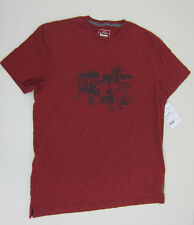 Roots Shinny Hockey T-Shirt  - Mens Large - Red - NWT