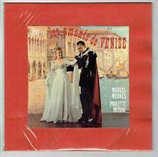 33T 25 cm Marcel MERKES & Paulette MERVAL Vinyle AMANTS VENISE - ODEON 1014 RARE