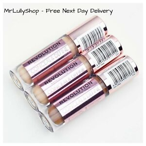 Makeup Revolution Conceal & Define Full Coverage Concealer & Contour All Shades