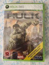 The Incredible Hulk - Xbox 360 Game -  FULL GAME PROMO - UK PAL - NEW