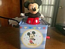 Mickey Mouse Jack-in-the-Box Have You Seen Mickey DISNEY (2014)⭐️⭐️⭐️