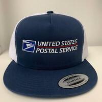 USPS Trucker  Snapback Cap United States Postal Service Hat