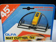 Olfa Mat Cutter MC-45, boxed unused buy now, post free
