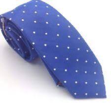 Penguin, Men's, Banville Dot Necktie Med Blue 420 Classic, One Piece