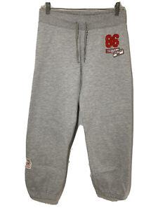 Victoria's Secret PINK Gray Sweat Pants Sweats Loungewear Logo Sz Extra Small XS