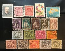 PORTUGAL  postage stamps Lot of 19 old