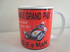 Céramique Coffret Classique Moto Moto Mug Isle of Man MANX GRAND PRIX