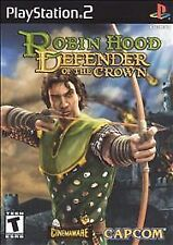 ***ROBIN HOOD DEFENDER OF THE CROWN PS2 PLAYSTATION 2 DISC ONLY~~~