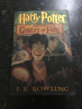 Harry Potter and the Goblet Of Fire 1st Edition US Book J.K. Rowling
