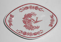 Jackson China Restaurant Ware Red Hummingbird Compote