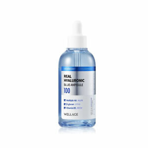 [WELLAGE] Real Hyaluronic Blue Ampoule 100 - 100ml / Free Gift