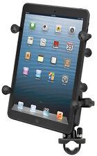 RAM-B-149Z-UN8U RAM Handlebar Rail Mount and X-Grip™ II Holder for Small Tablets