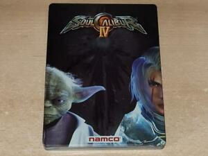 Soul Calibur IV Limited Edition Steelbook Case Only Xbox 360 G1 (NO GAME)